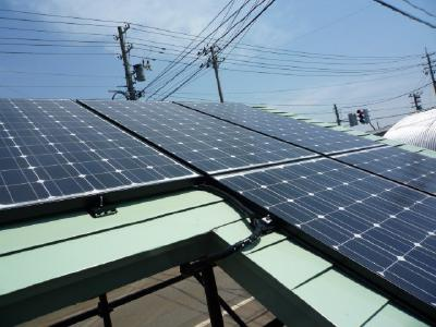 太陽光パネル3