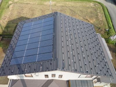 S様太陽光発電設置工事~融雪ヒーター設置完了