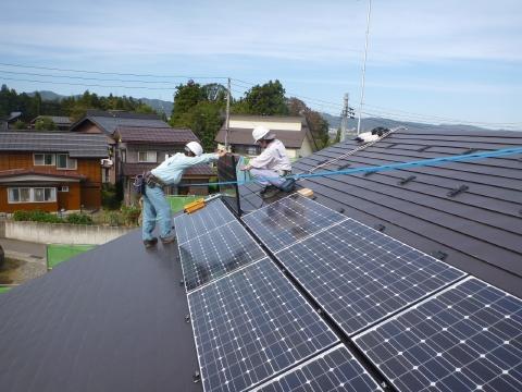 十日町市N様邸 太陽光発電設備