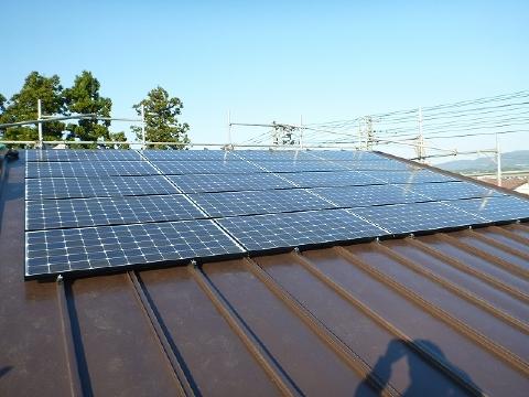 長岡市N様邸太陽光発電設置工事