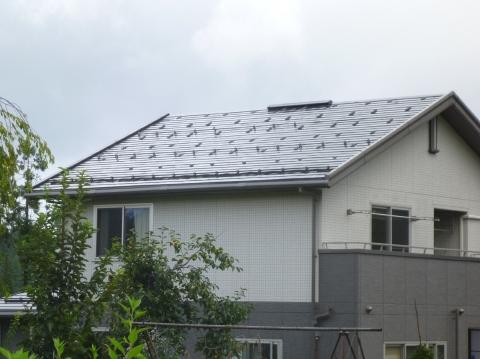 長岡市M様太陽光発電設備工事 金具