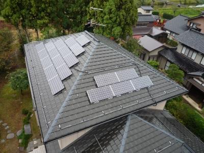 N様太陽光発電設置工事~設置完了