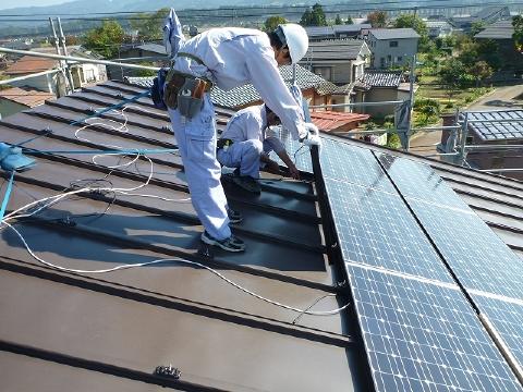 長岡市N様邸太陽光発電設備工事