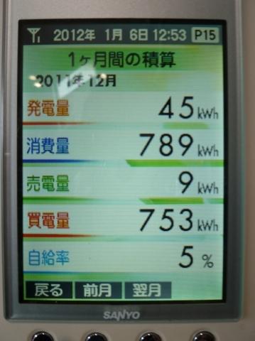 H23.12たかでん太陽光設備データ