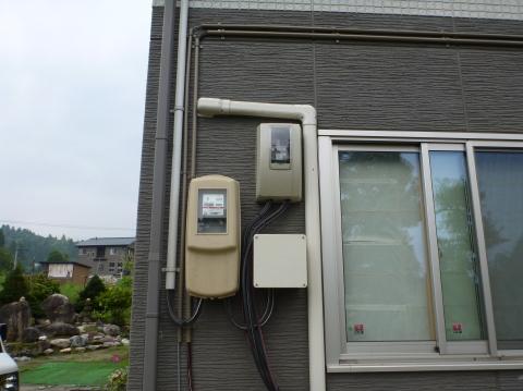 長岡市M様太陽光発電設備工事