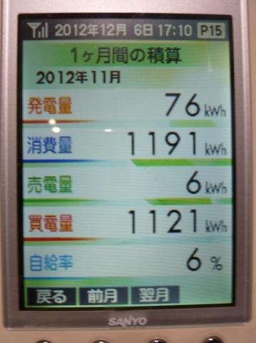 2012.11たかでん太陽光発電設備