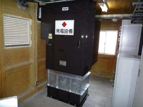 小千谷テレメーター 簡易型発電装置
