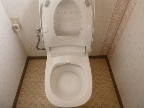 全自動おそうじトイレ交換工事